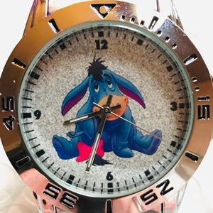 """Accessories - Adorable Brand New """"Eeyore""""Stainless Steele Watch"""